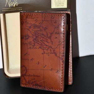 Patricia Nash   Folding ID Card Case  in Riot Rust
